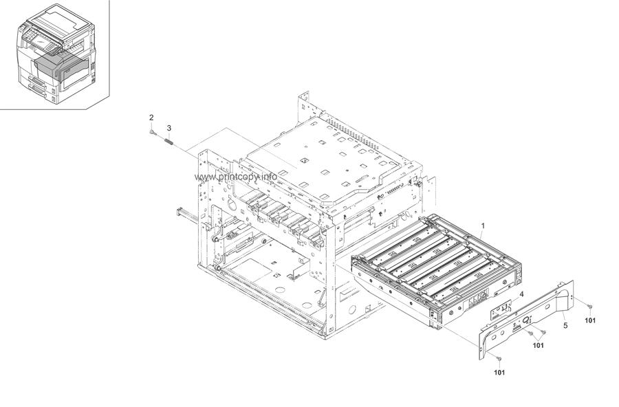 Parts Catalog > Kyocera > TASKalfa 250ci > page 22