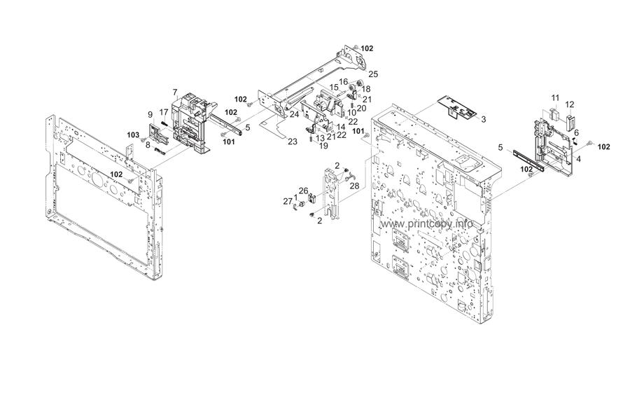 Parts Catalog > Kyocera > TASKalfa 2550ci > page 4