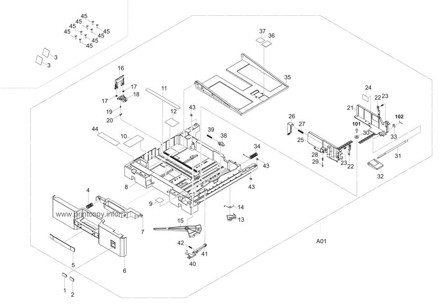 Parts Catalog > Kyocera > TASKalfa 2550ci > page 8