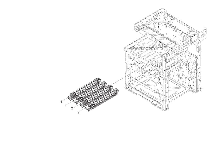 Parts Catalog > Kyocera > TASKalfa 2550ci > page 20