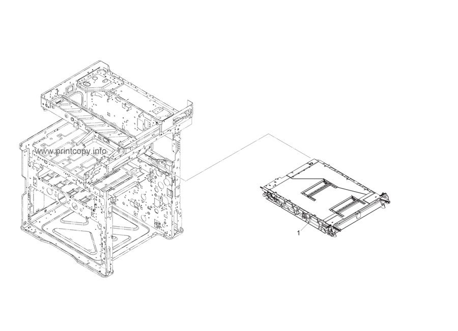 Parts Catalog > Kyocera > TASKalfa 2550ci > page 22