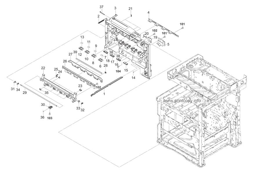 Parts Catalog > Kyocera > TASKalfa 2550ci > page 31