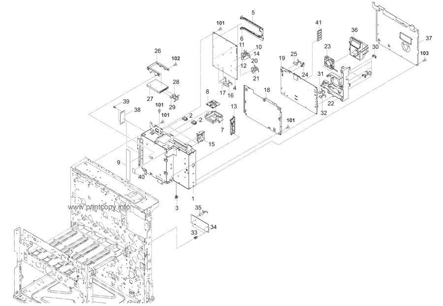 Parts Catalog > Kyocera > TASKalfa 2550ci > page 34