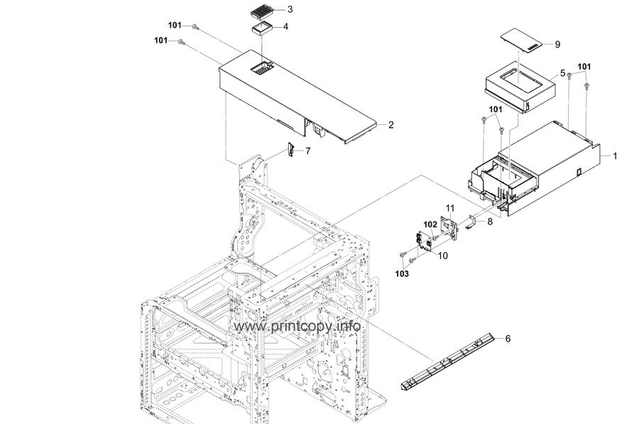 Parts Catalog > Kyocera > TASKalfa 2552ci > page 2