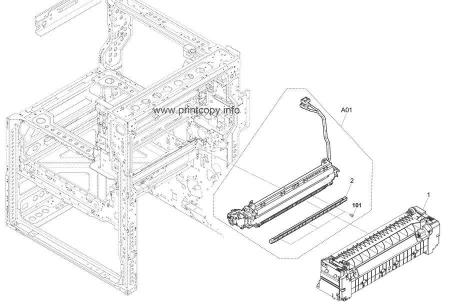 Parts Catalog > Kyocera > TASKalfa 5002i > page 30