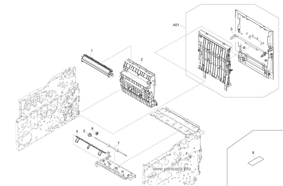 Parts Catalog > Kyocera > TASKalfa 265ci > page 5