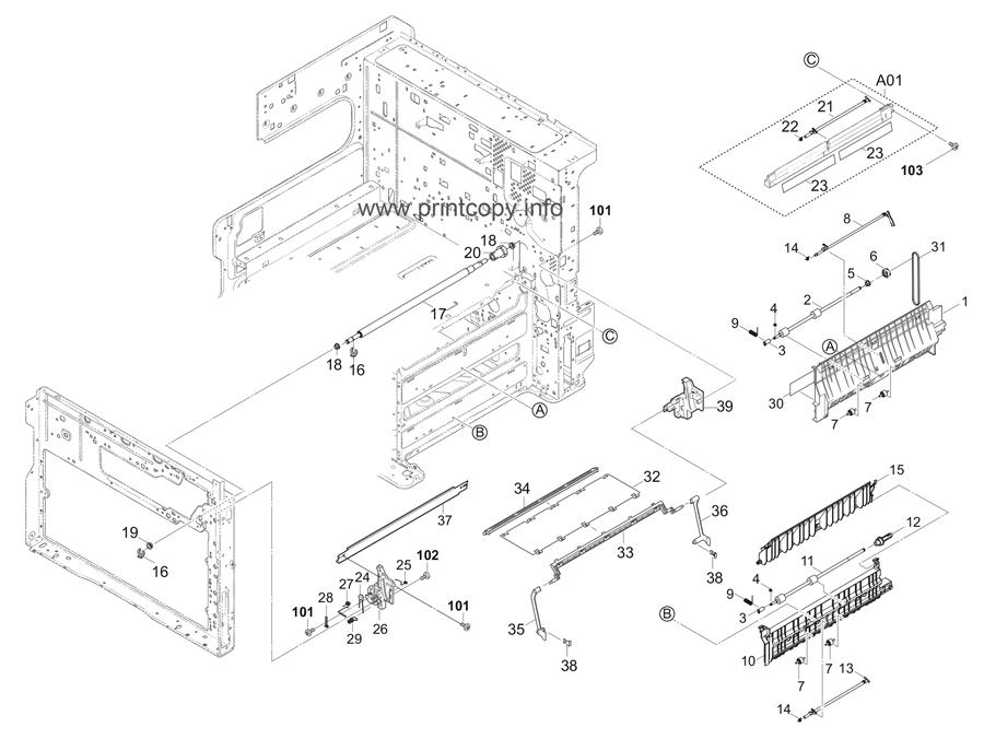 Parts Catalog > Kyocera > TASKalfa 3010i > page 10