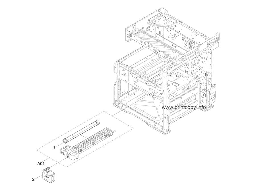 Parts Catalog > Kyocera > TASKalfa 3510i > page 21