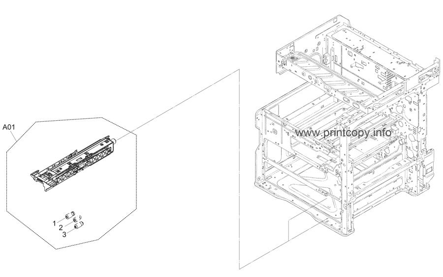 Parts Catalog > Kyocera > TASKalfa 3511i > page 9