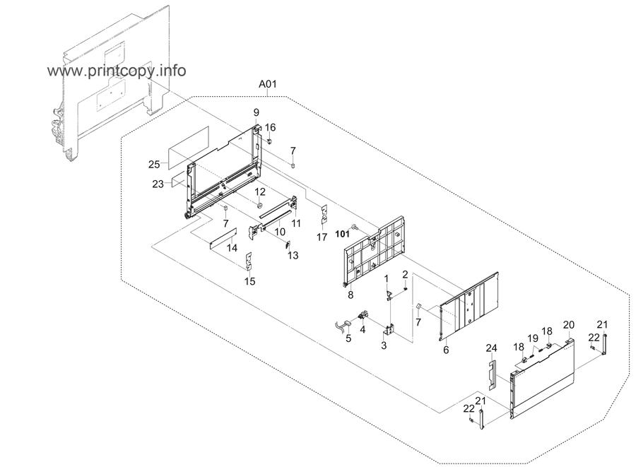 Parts Catalog > Kyocera > TASKalfa 3011i > page 16
