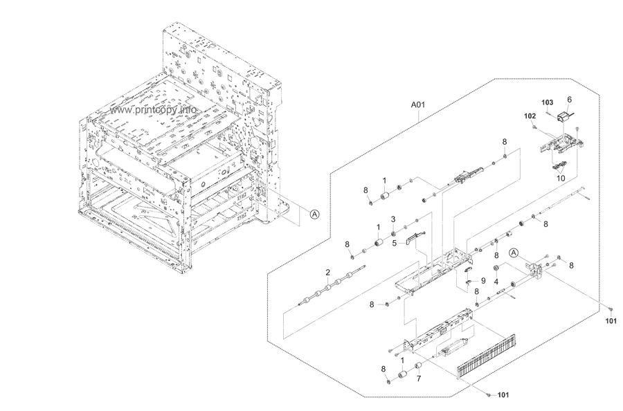 Parts Catalog > Kyocera > TASKalfa 3050ci > page 5