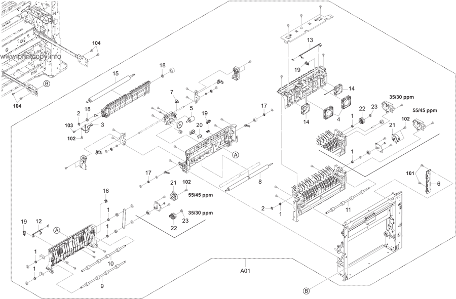 Parts Catalog > Kyocera > TASKalfa 3050ci > page 8