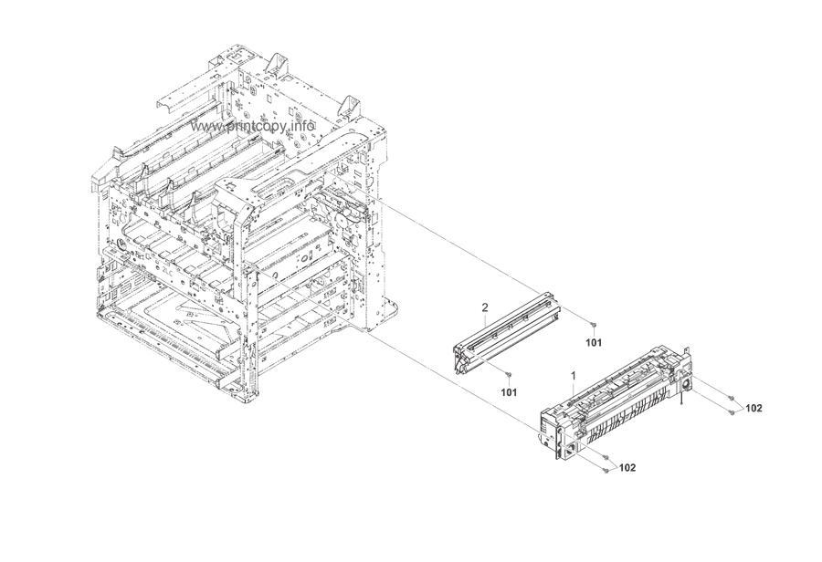 Parts Catalog > Kyocera > TASKalfa 3050ci > page 16