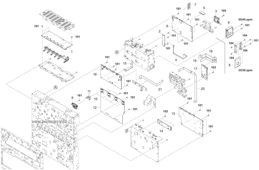 Parts Catalog > Kyocera > TASKalfa 3550ci > page 22