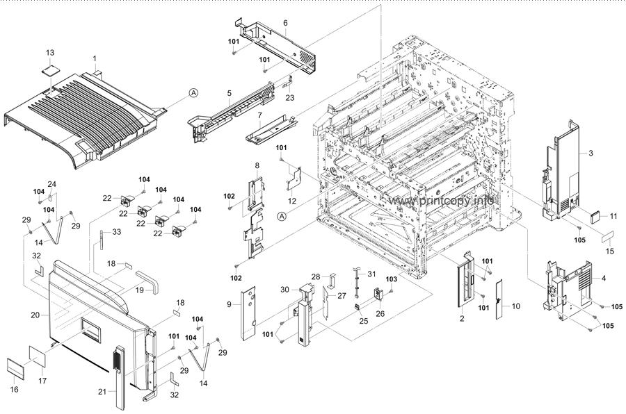 Parts Catalog > Kyocera > TASKalfa 5551ci > page 1