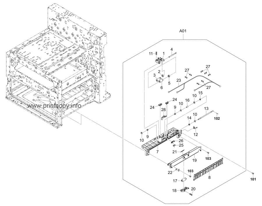 Parts Catalog > Kyocera > TASKalfa 4551ci > page 6