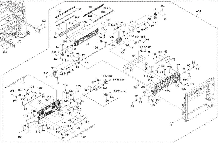 Parts Catalog > Kyocera > TASKalfa 3051ci > page 10