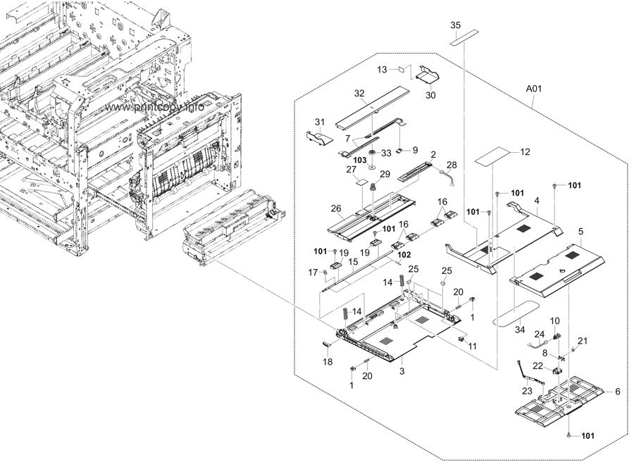 Parts Catalog > Kyocera > TASKalfa 4551ci > page 12