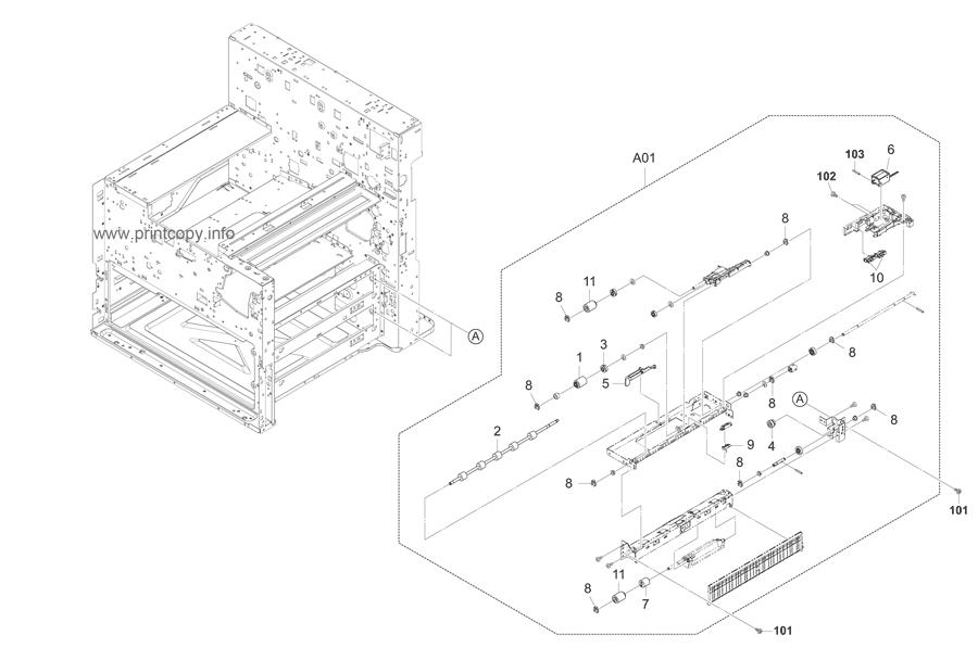 Parts Catalog > Kyocera > TASKalfa 4500i > page 5