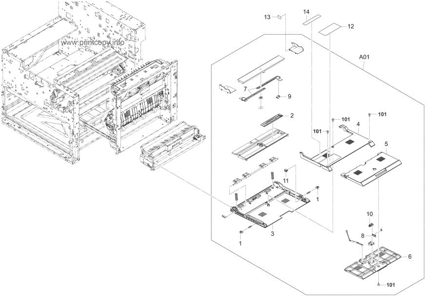 Parts Catalog > Kyocera > TASKalfa 3500i > page 10