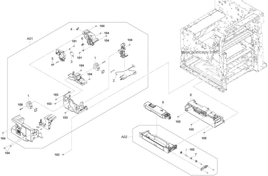 Parts Catalog > Kyocera > TASKalfa 5500i > page 13