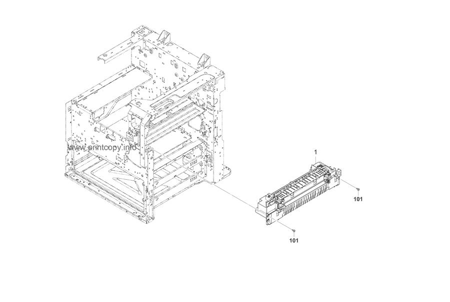 Parts Catalog > Kyocera > TASKalfa 3500i > page 14