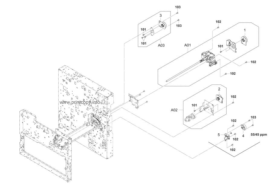 Parts Catalog > Kyocera > TASKalfa 5500i > page 15