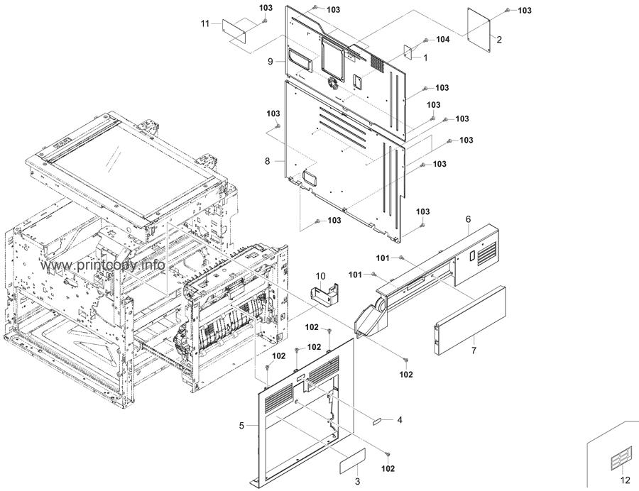Parts Catalog > Kyocera > TASKalfa 5501i > page 3