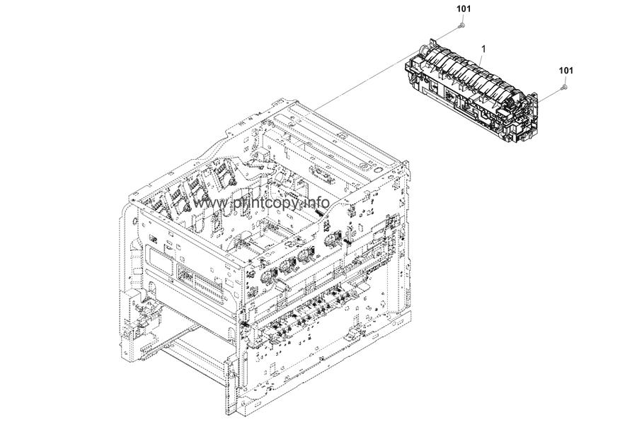 Parts Catalog > Kyocera > TASKalfa 350ci > page 11