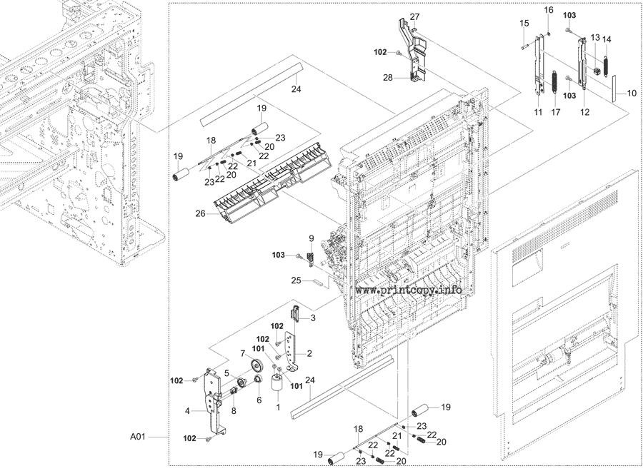Parts Catalog > Kyocera > TASKalfa 5053ci > page 16