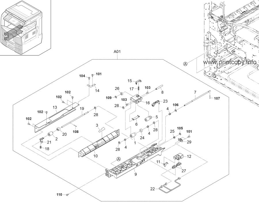 Parts Catalog > Kyocera > TASKalfa 420i > page 4