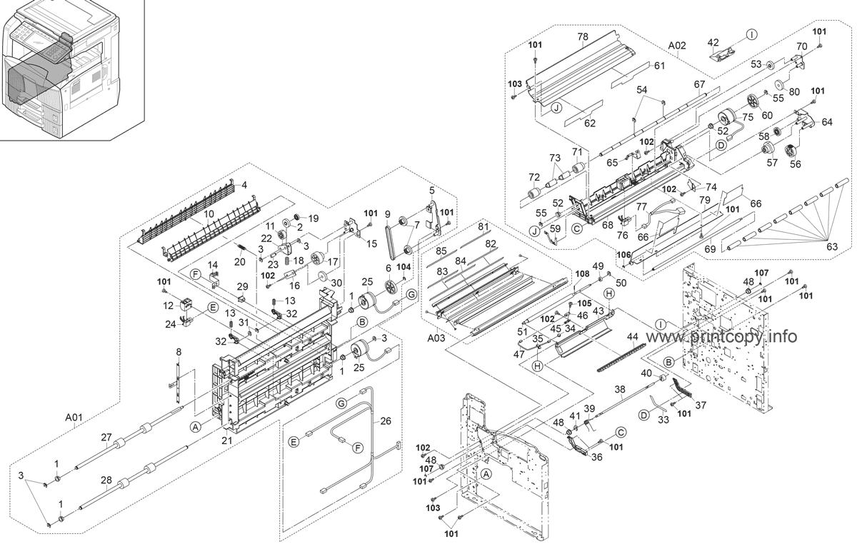 Parts Catalog > Kyocera > TASKalfa 520i > page 5