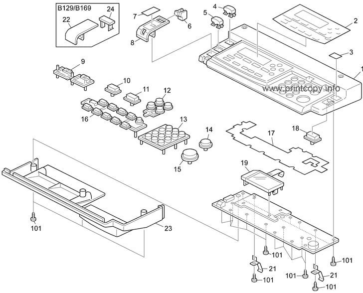 Parts Catalog > Ricoh > Aficio 1515MF > page 2