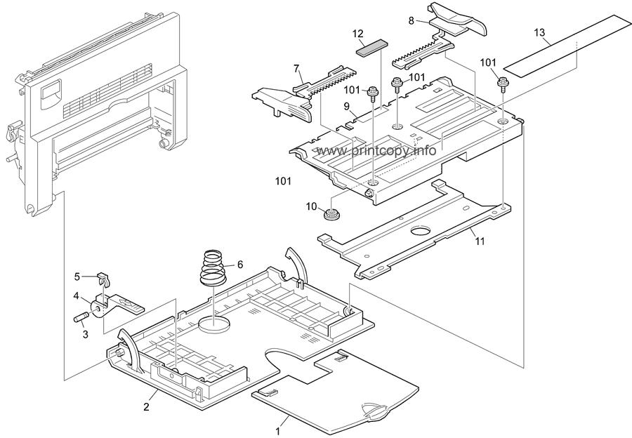 Parts Catalog > Ricoh > Aficio 1515MF > page 3