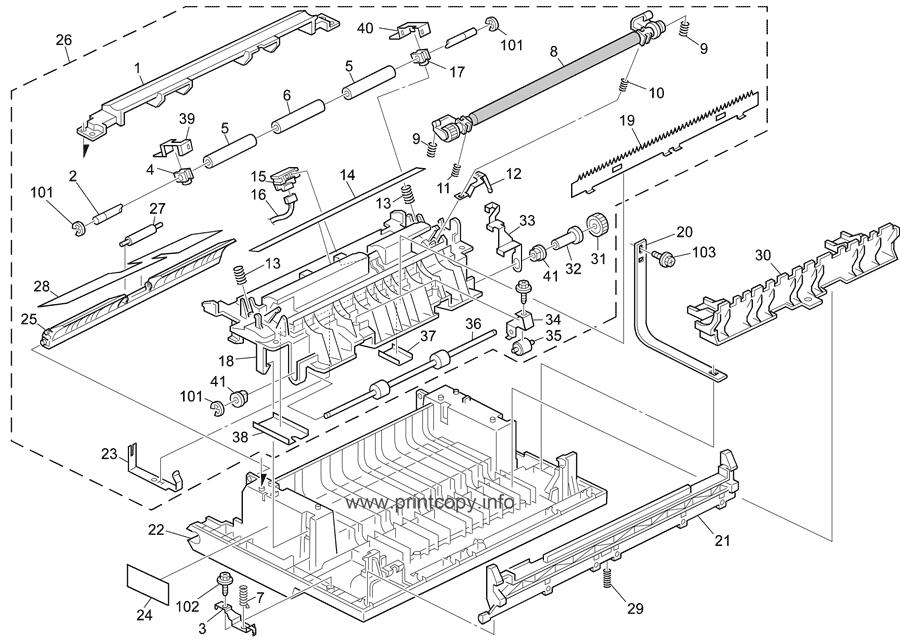 Parts Catalog > Ricoh > Aficio 1515MF > page 5