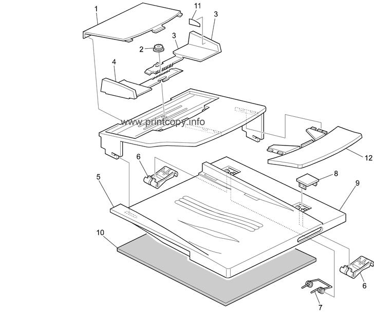 Parts Catalog > Ricoh > Aficio 1515MF > page 7