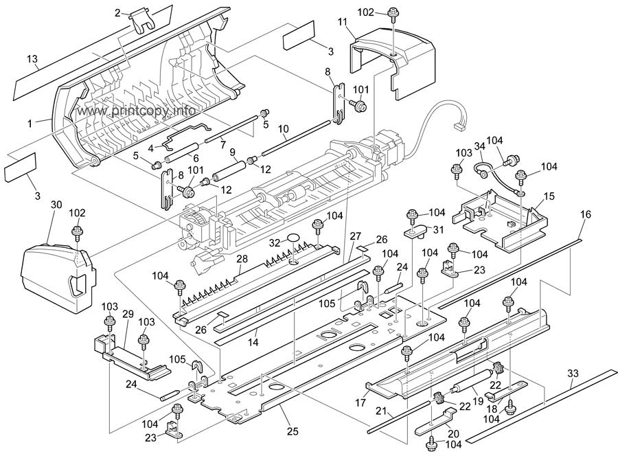 Parts Catalog > Ricoh > Aficio 1515MF > page 8