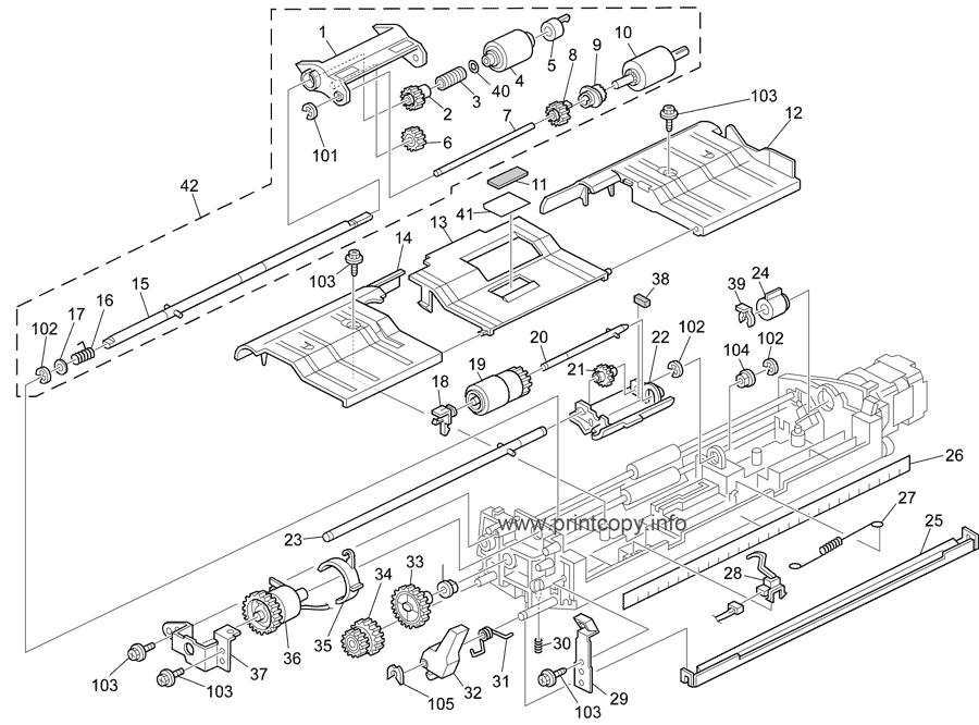 Parts Catalog > Ricoh > Aficio 1515MF > page 9