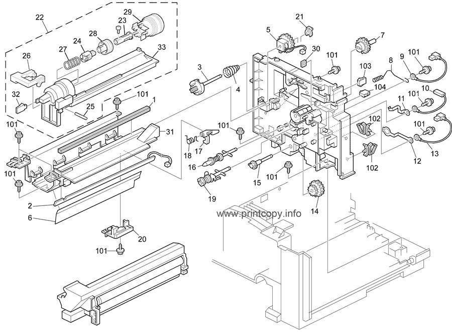 Parts Catalog > Ricoh > Aficio 1515 > page 14