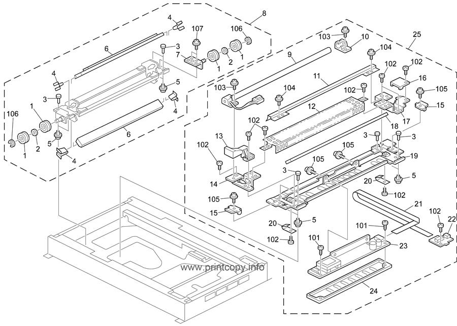 Parts Catalog > Ricoh > Aficio 1060 > page 17