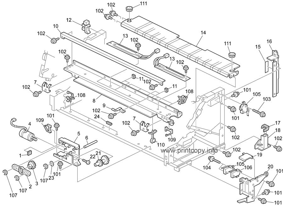 Parts Catalog > Ricoh > Aficio 240W > page 20
