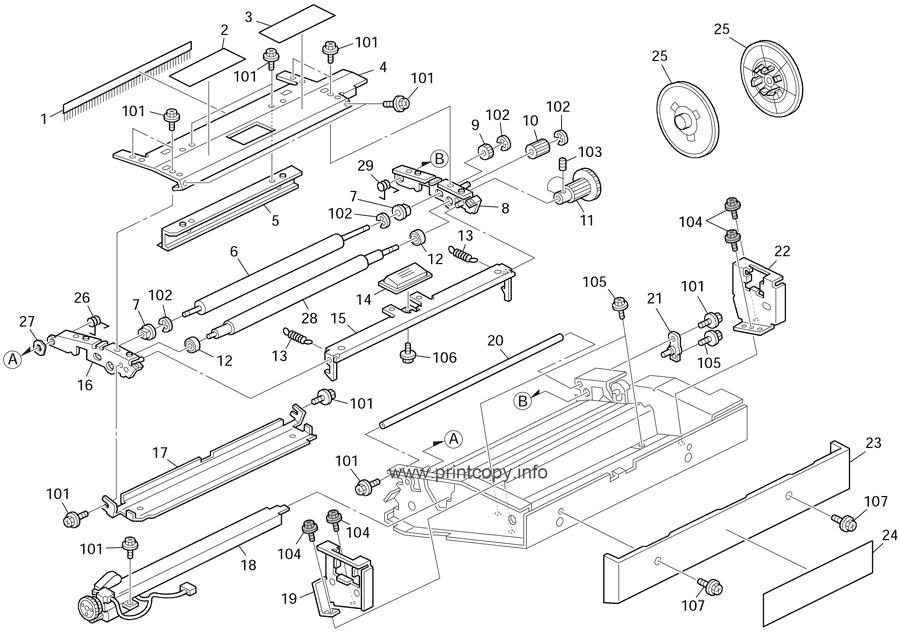Parts Catalog > Ricoh > DX2430 > page 7