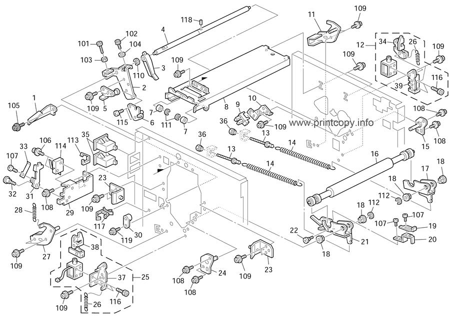 Parts Catalog > Ricoh > DX2430 > page 9