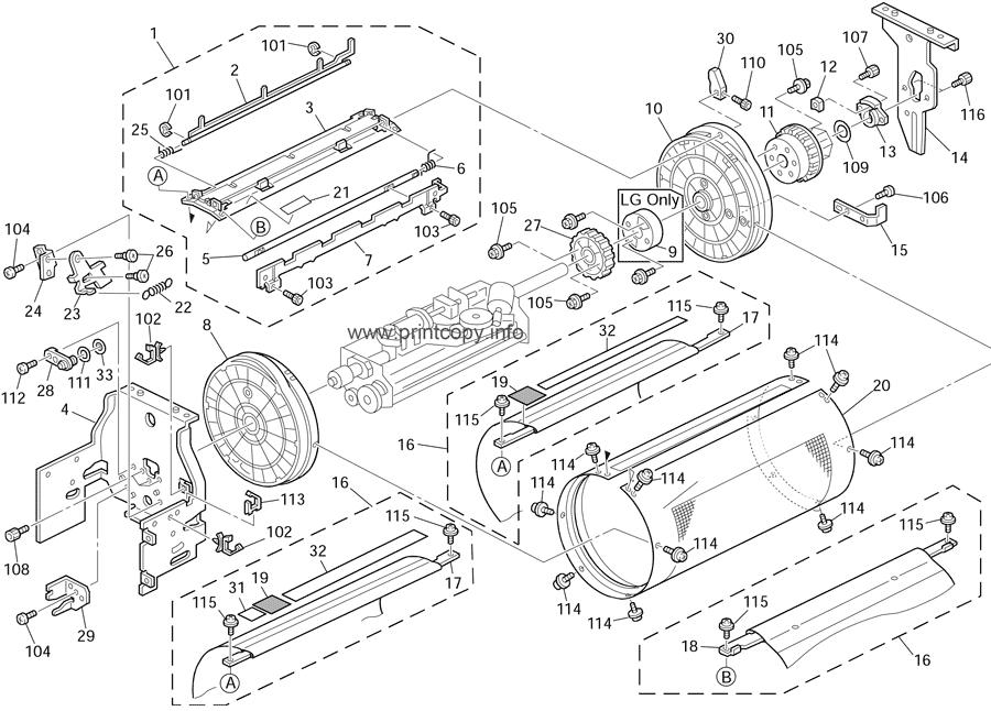 Parts Catalog > Ricoh > DX2430 > page 11
