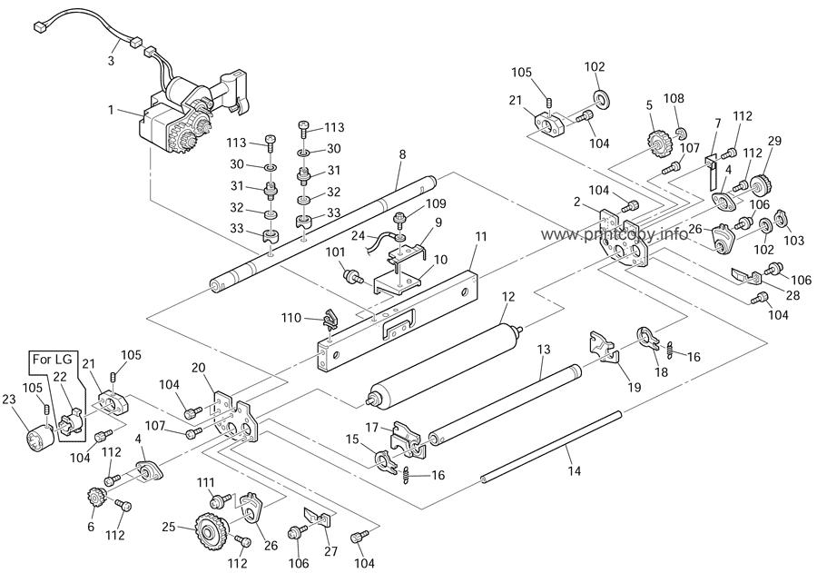 Parts Catalog > Ricoh > DX2430 > page 12