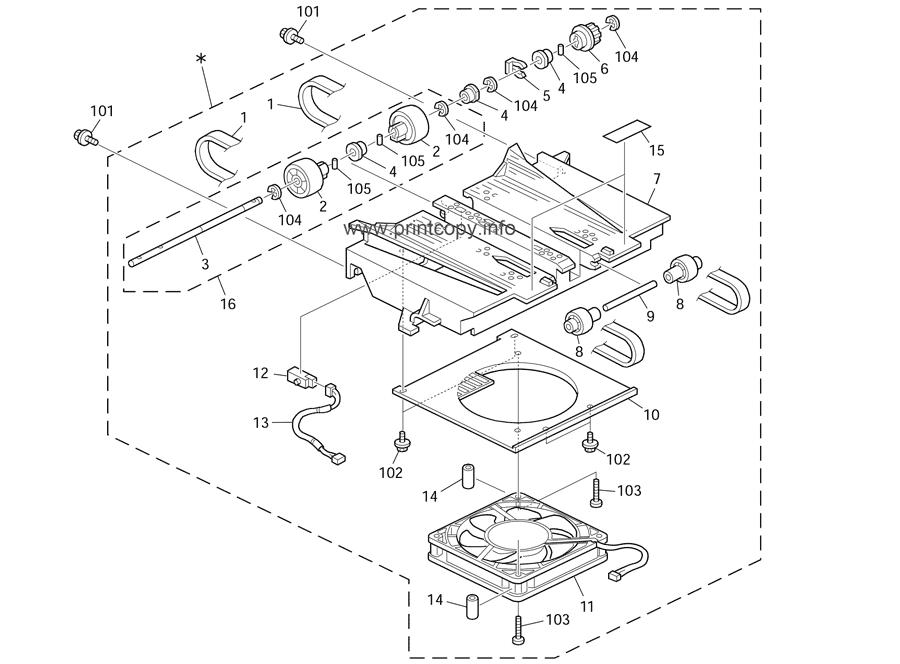 Parts Catalog > Ricoh > DX2430 > page 13