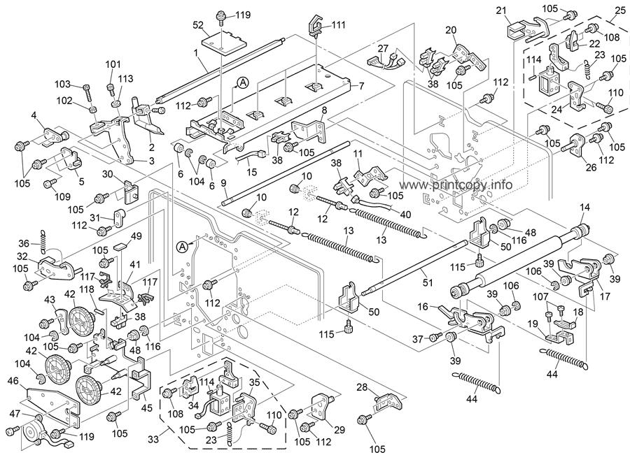 Parts Catalog > Ricoh > C268 DX4443CP HP4-R2 > page 12