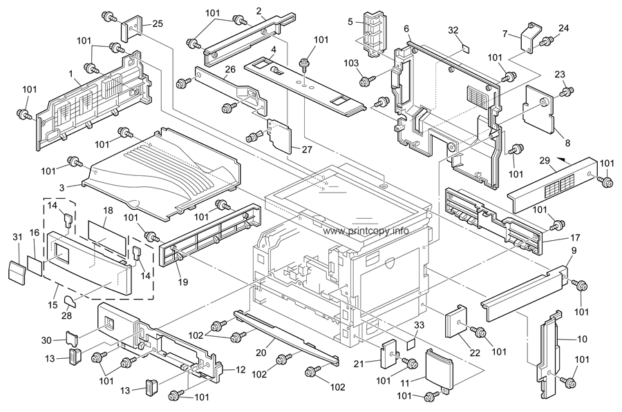 Parts Catalog > Ricoh > MP2000 > page 2