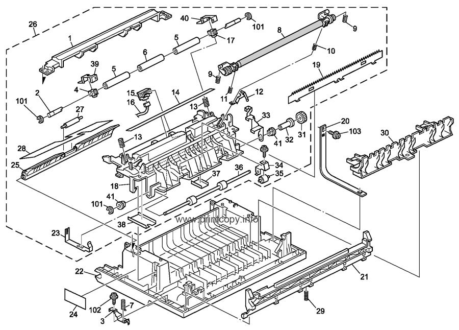 Parts Catalog > Ricoh > MP161 > page 5