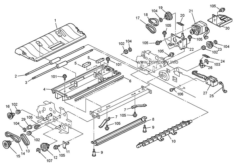 Parts Catalog > Ricoh > MP161 > page 10